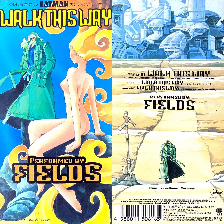 WALK THIS WAY/FIELDSEAT-MAN ED(1997年)#センチメンタルグルーヴ#sentimental_groove #アニメ #アニソン #8cmCD #短冊CD#EATMAN #FIELDS #テレビ東京 #JPOP #anime #animesong